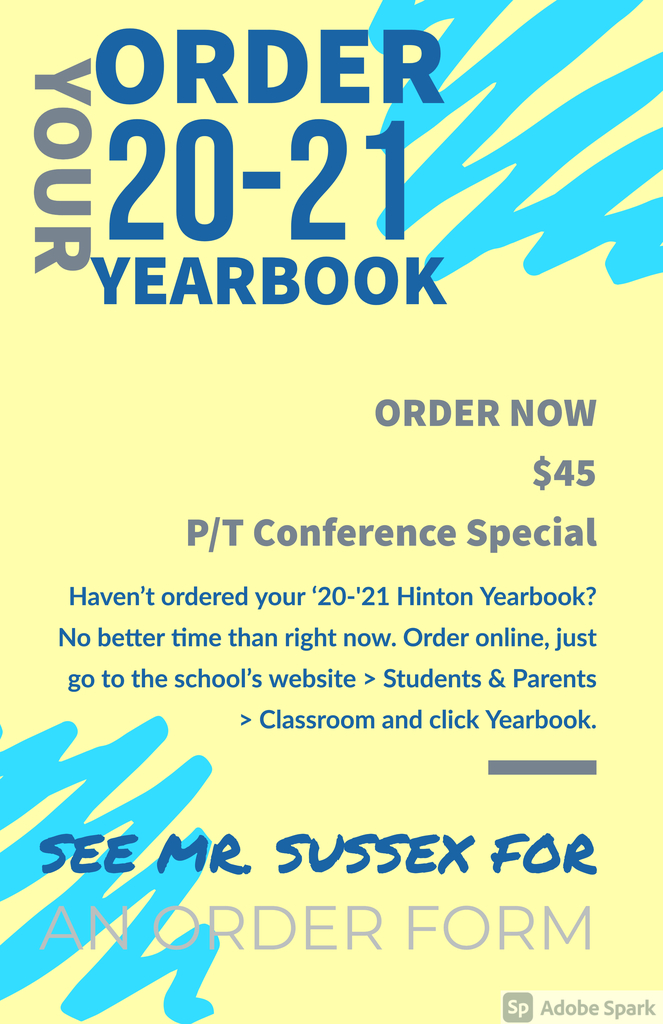 October Yearbook Sales