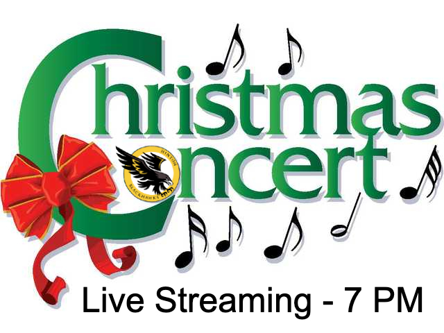 Christmas Concert Live Stream 7PM