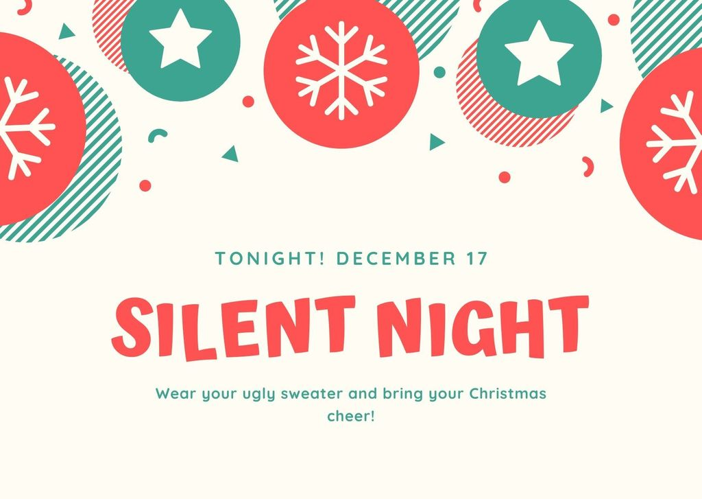 Silent Night flyer