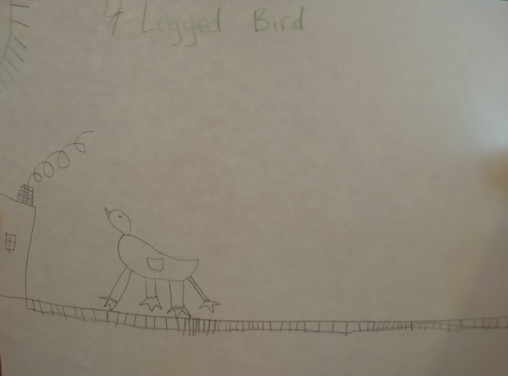 Four Legged Bird