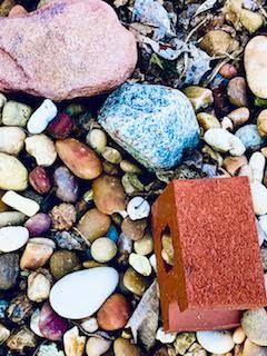 Organic/Geometric Shapes Rocks, Bricks, and Things