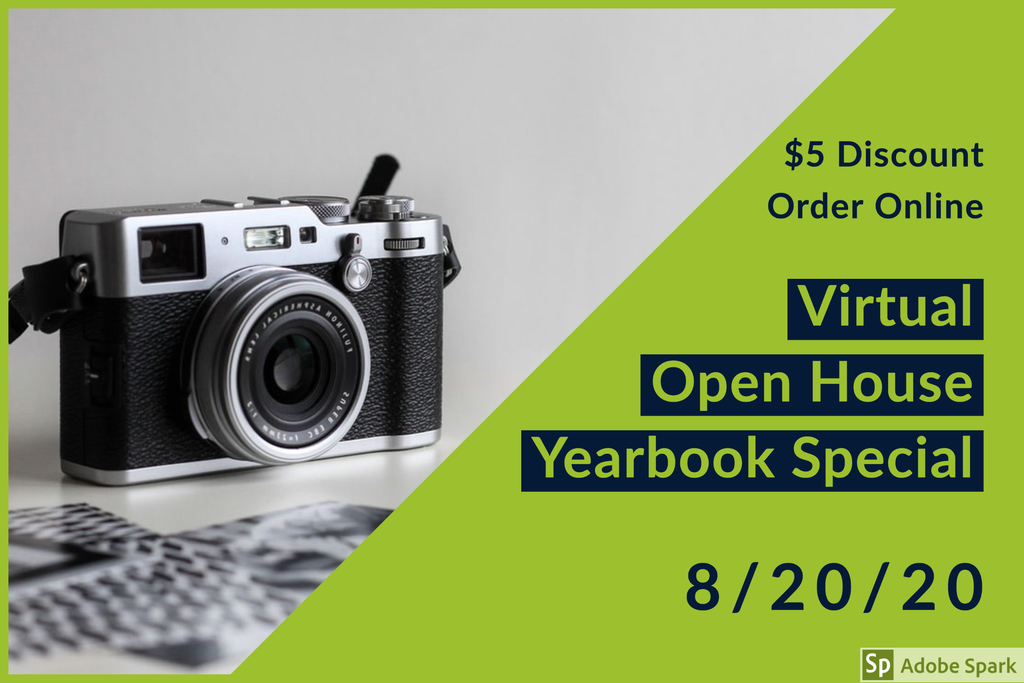 Yearbook Virtual Open House discount